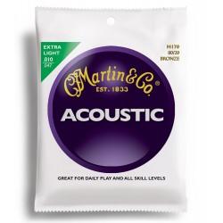 Corzi chitara acustica Martin&Co M170