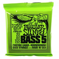 Set de corzi pentru chitara bass ERNIE BALL 2836 REGULAR SLINKY