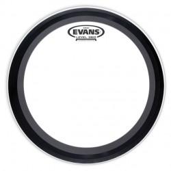 "Fata toba mare Evans 20"" EMAD Clear Bass Drum"