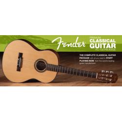 Set chitara clasica Fender FC-100